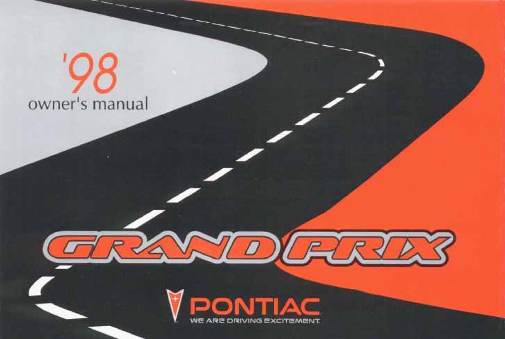 1998 Pontiac Grand Prix owners manual