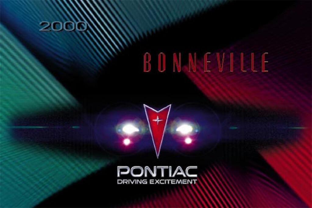 2000 Pontiac Bonneville owners manual