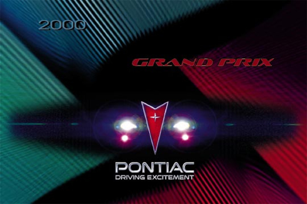 2000 Pontiac Grand Prix owners manual