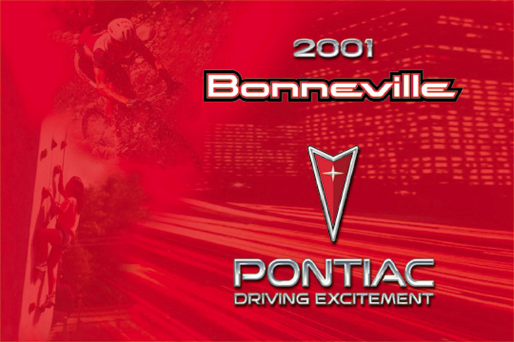 2001 Pontiac Bonneville owners manual