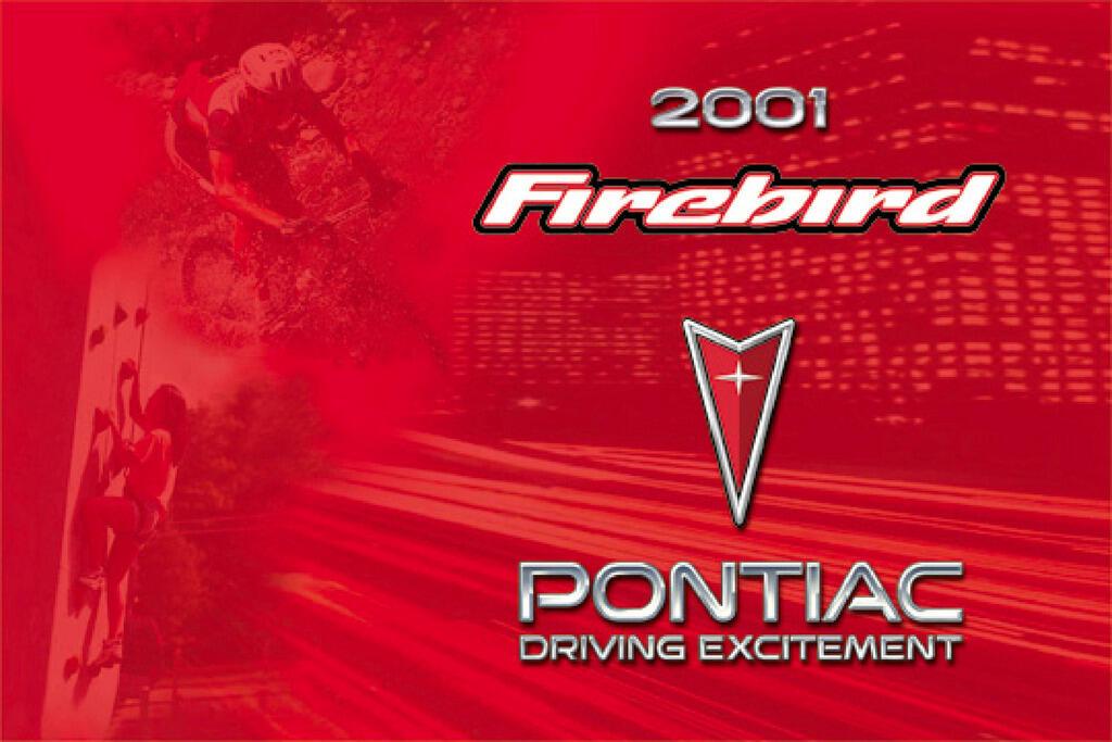 2001 Pontiac Firebird owners manual