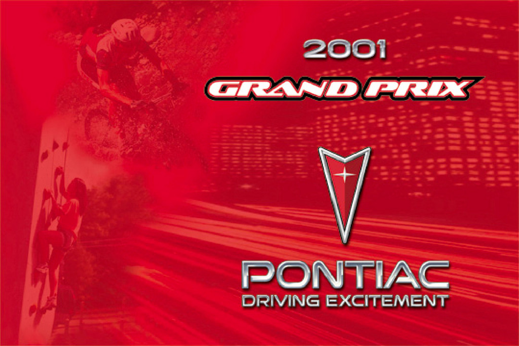 2001 Pontiac Grand Prix owners manual