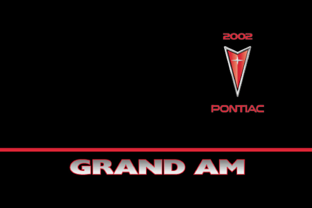 2002 Pontiac Grand Am owners manual